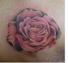 Color Rose Tattoo
